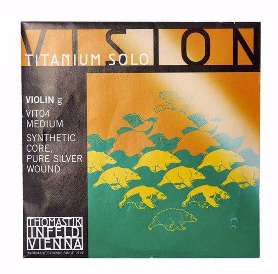 VISION TITANIUM SOLO STRUNA ZA VIOLINO G VIT04 MEDIUM