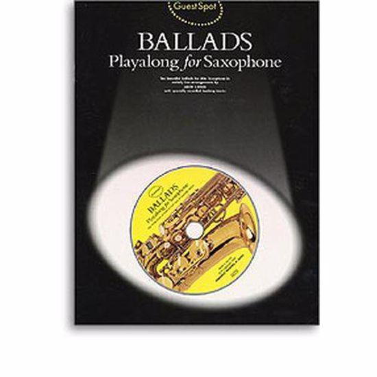 BALLADS PLAYALONG FOR SAX