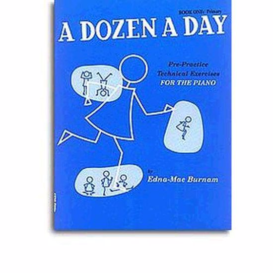BURNAM:A DOZEN A DAY 1 PIANO
