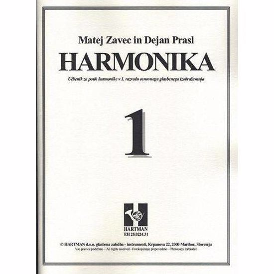 ZAVEC M., PRASL D.:HARMONIKA 1 UČBENIK