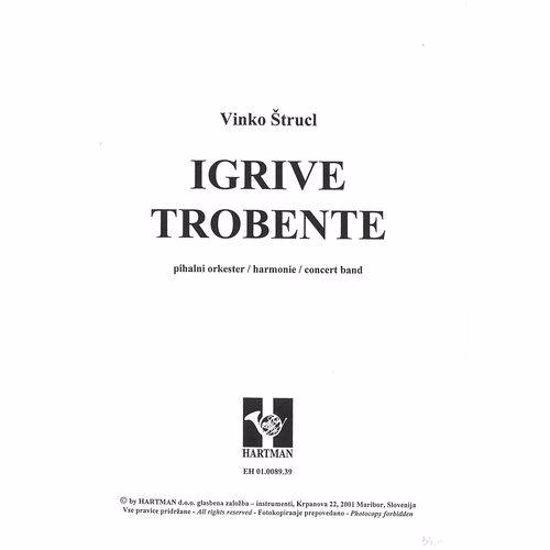 ŠTRUCL VINKO:IGRIVE TROBENTE