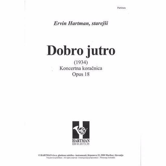 HARTMAN ERVIN ST.;DOBRO JUTRO