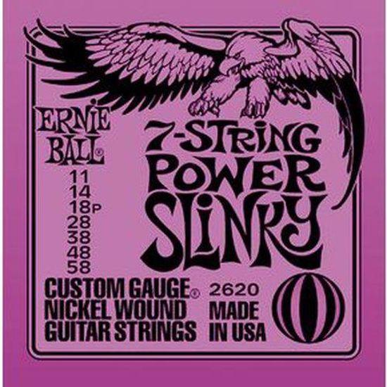 ERNIE BALL strune za električno kitaro SET 2620 7 STR 011-058