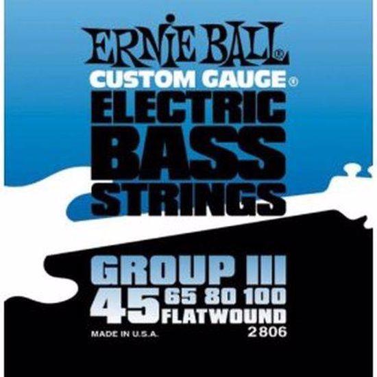 ERNIE BALL SET 2806 BASS 045-100 BRUŠENE