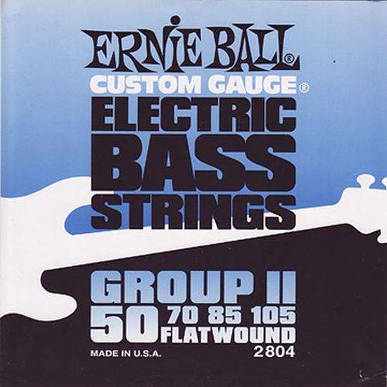 ERNIE BALL strune za bas kitaro SET 2804 BASS 050-105 BRUŠENE