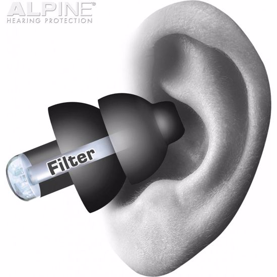 Čepki za ušesa Alpine PartyPlug black