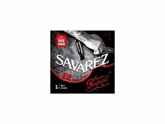 Strune Savarez ak.kitara12 strun A240L Bronze 12-53