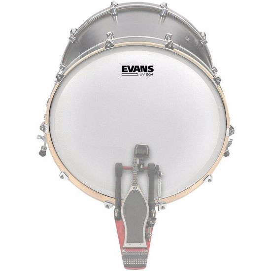 Opna Evans  EQ4 UV 18'' Coated Bass Drum Head BD18GB4UV