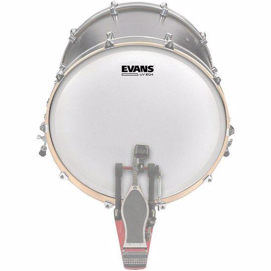 Opna Evans  EQ4 UV 18'' Coated Bass Drum Head BD18GB4UV