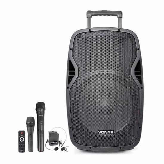 """VONYX PRENOSNO BATER.OZVOČENJE AP1500PA Portable Speaker 15"""""""
