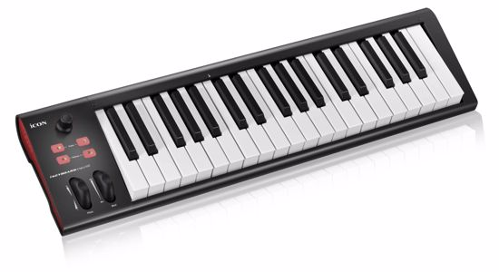 ICON IKEYBOARD 4 NANO 37-KEY SEMI-WEIGHTED USB MIDI CONTROLLER