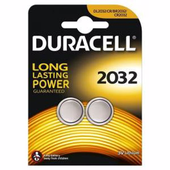 DURACELL BATERIJA 2032 3v gumb 2 pack