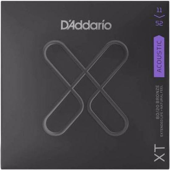 Strune D'Addario ak. kitara XTABR1152 Light Top/Medium Bottom