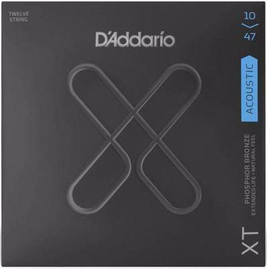 Strune D'Addario ak. kitara XTAPB1047-12 Light