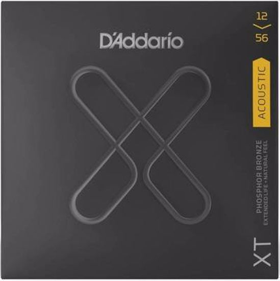 Strune D'Addario ak. kitara XTAPB1256 Light Top/Medium Bottom
