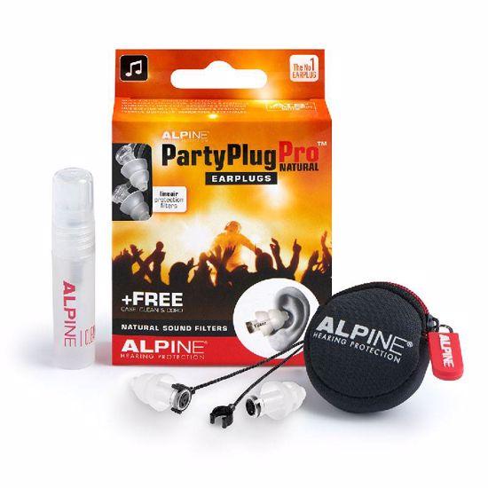 Čepki za ušesa Alpine PartyPlug Pro Natural