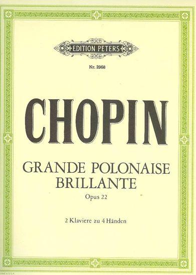 CHOPIN:GRANDE POLONAISE BRILLANTE OP.22 FOR 2 PIANOS