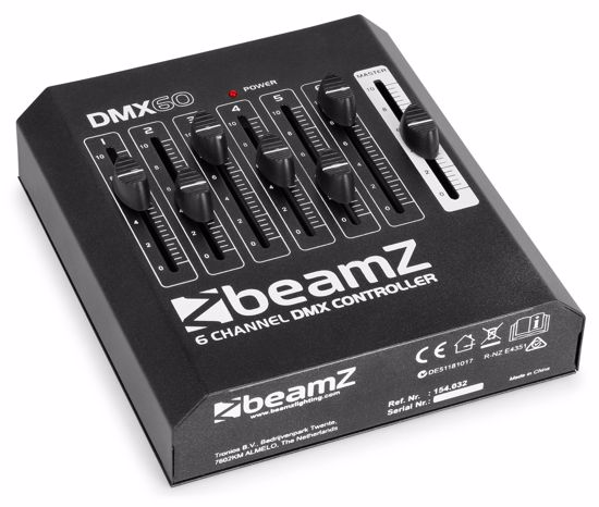 BEAMZ DMX60 Controller 6-Channel