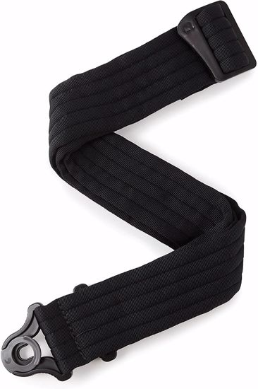 PAS ZA KITARO PLANET WAVES Auto Lock Guitar Strap Black Padded