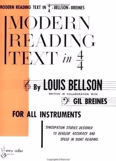 BELLSON L.:MODERN READING TEXT IN 4/4 FOR ALL INSTRUMENTS