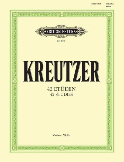 KREUTZER;ETUDEN - VIOLINE