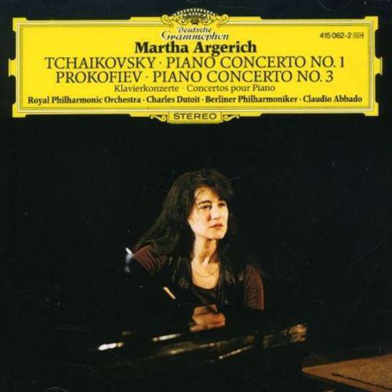 TCHAIKOVSKY:PIANO CONCERTO NO.1PROKOFIEV:PIANO CONCERTO NO.3/MARTHA ARGERICH