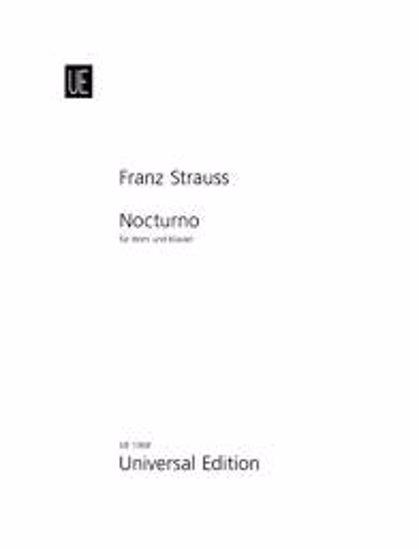 STRAUSS F;NOCTURNO OP.7,HORN&KLAVIER