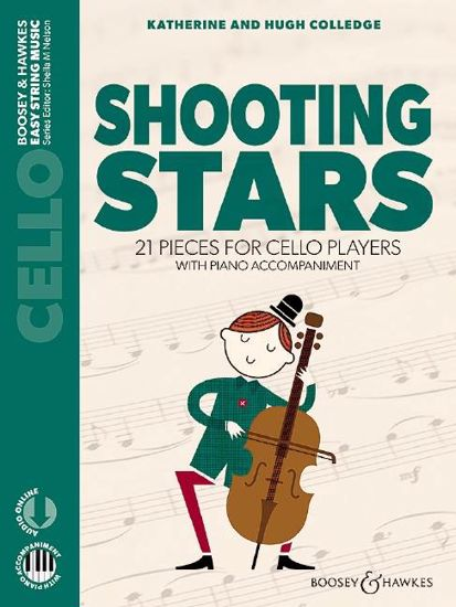 COLLEDGE:SHOOTING STARS CELLO AND PIANO +AUDIO ONLINE
