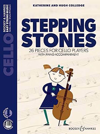 COLLEDGE:STEPPINGS STONES CELLO AND PIANO+AUDIO ONLINE