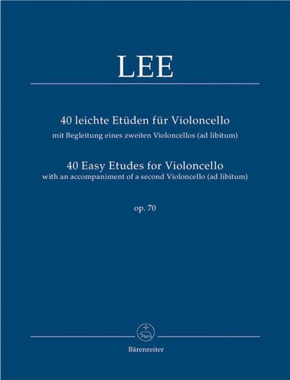 LEE:40 EASY ETUDES FOR CELLO OP.70