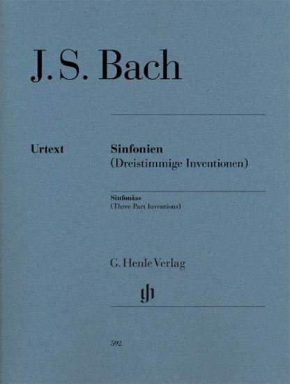 BACH J.S.:SINFONIEN(THREE PART INVENTIONS)