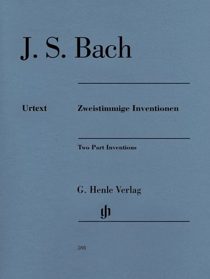 BACH J.S.:ZWEISTIMMIGE INVENTIONEN/TWO PART INVENTIONS