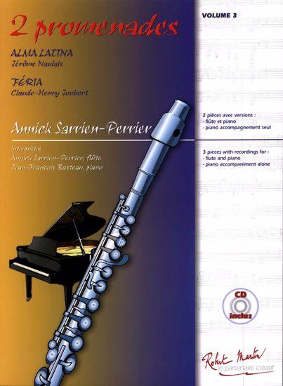 PERRIER:ALMA LATINA,2 PROMENADES +CD