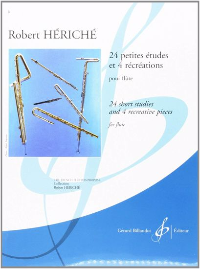 HERICHE R.:24 PETITES ETUDES ET 4 RECREATIONS