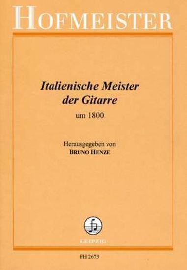 ITALIAN MASTER OF THE GUITAR AROUND 1800