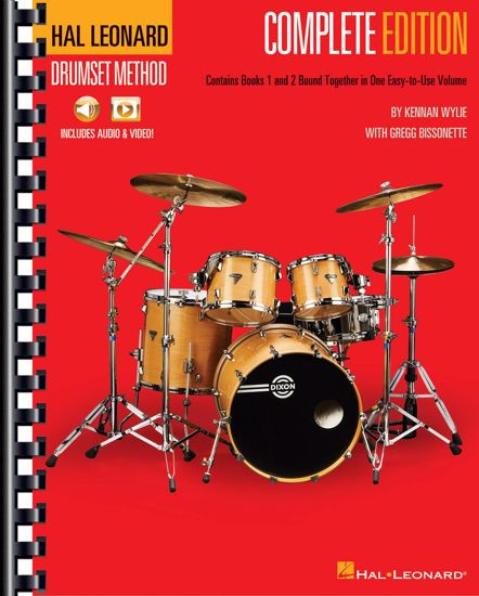 WYLIE/BISSONETTE:COMPLETE EDITION 1-3 DRUMSET METHOD+AUDIO & VIDEO