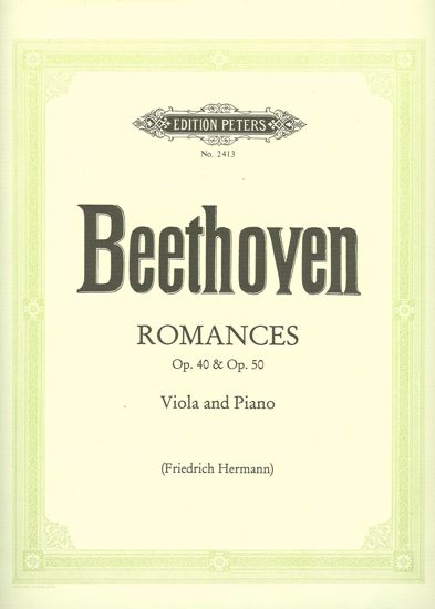BEETHOVEN:ROMANCES OP.40 & 50 VIOLA AND PIANO