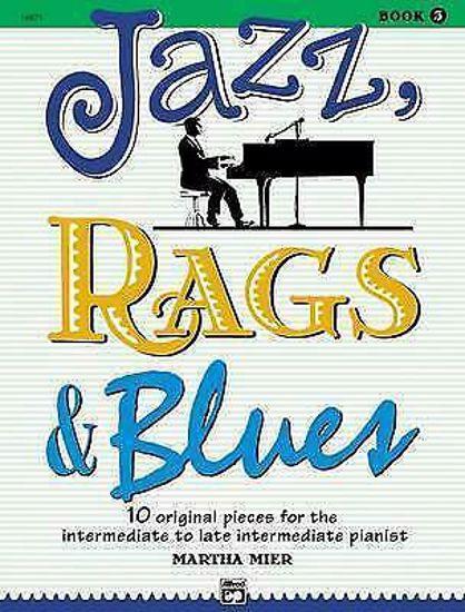 JAZZ RAGS&BLUES BK.3,9 ORIGINAL PIECES/MIER