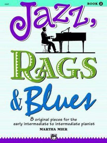 JAZZ RAGS&BLUES BK.2,8 ORIGINAL PIECES/MIER