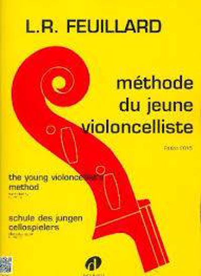 FEUILLARD:METHODE JEUNE VIOLONCELLISTE