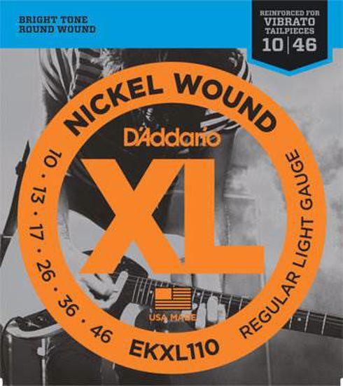 Strune D'Addario el.kitara EKXL110  10-46