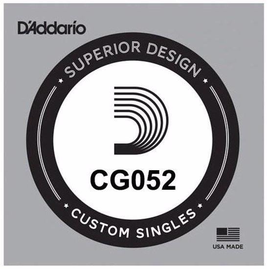 Struna D'Addario za E-Kitaro CG052 brušene