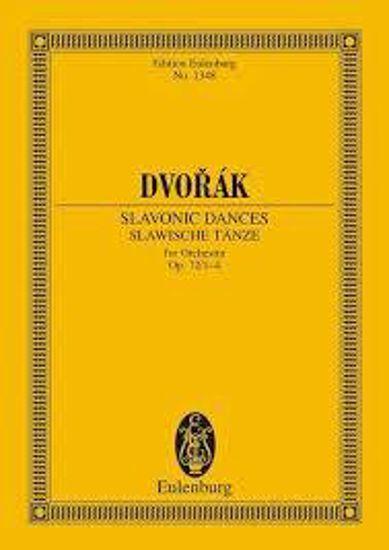DVORAK:SLAVONIC DANCES OP.72/1-4 STUDY SCORE