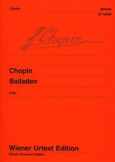 CHOPIN:BALLADEN/EKIER