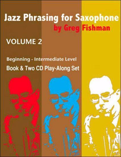 FRISHMAN:JAZZ PHRASING FOR SAXOPHONE VOL.2 +2CD