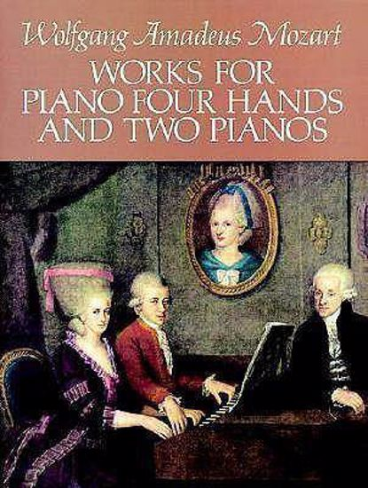 MOZART W.A;WORKS FOR PIANO 4 HANDS,2 PIANOS