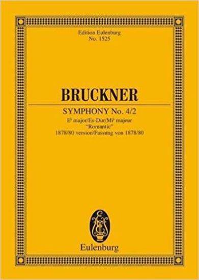 BRUCKNER;SYMPHONY NO.4/2,STUDY SCORE