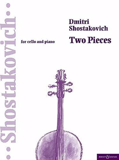 SHOSTAKOVICH:TWO PIECES FOR CELLO AND PIANO