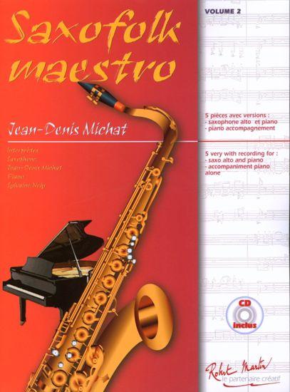 MICHAT:SAXOFOLK MAESTRO VOL.2+CD