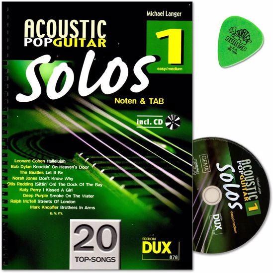 LANGER:ACOUSTIC POP GUITAR SOLOS 1 +CD